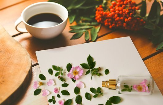 Morning, Perfume, Romantic, Bottle, Cup Of Tea