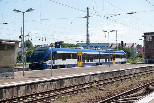 Railway, Germany, Rolling Stock, Train, Angermunde