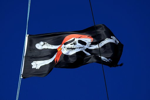 The Pirate Flag, Ship, The Baltic Sea