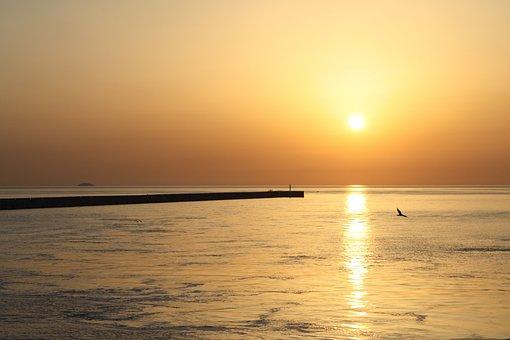 Sunrise, Heraklion Port, Crete, Kreta, Heraklion