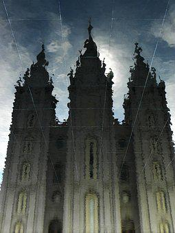 Cathedral, Tabernacle, Architecture, Eerie, Haunting