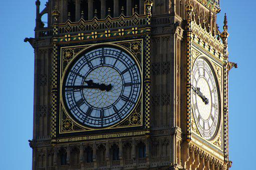 London, Tower, Clock, City, Cityscape, United Kingdom