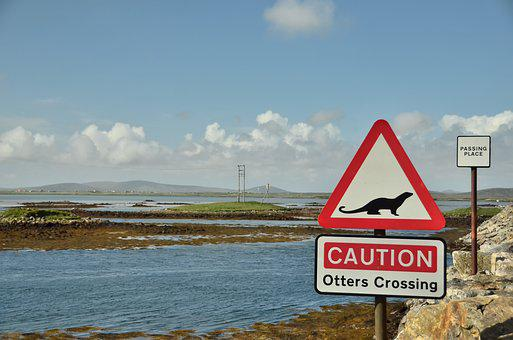Uist, North Uist, Island, Sign, Scotland, Western Isles
