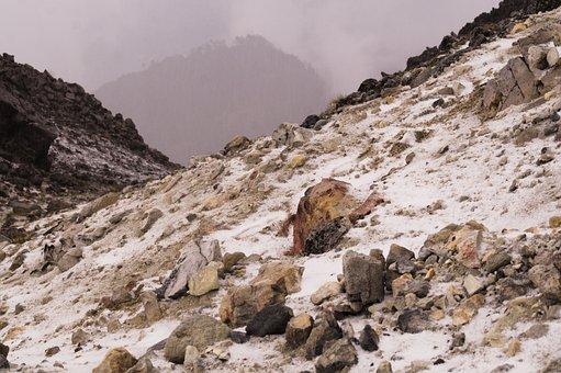 Ice, Height, Cold, Tajumulco, Volcano, Mountain, Nature