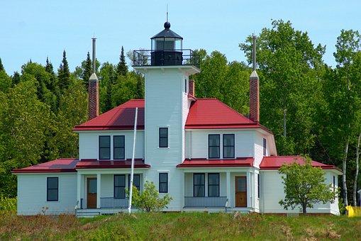 Raspberry Island Light, Wisconsin, Lighthouse