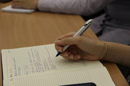 Letter, Write, Student, Edit