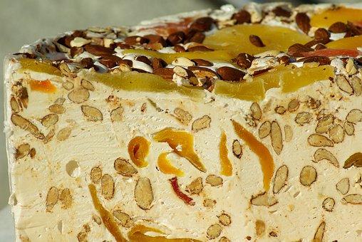 Nougat, Almonds, Honey, Candied Fruit