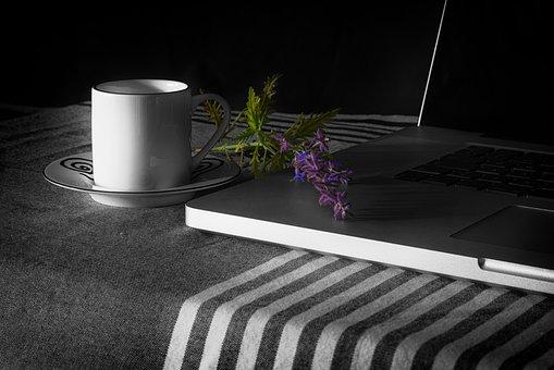 Mac, Apple, Ipad, Office, At Home, Laptop, Still Life