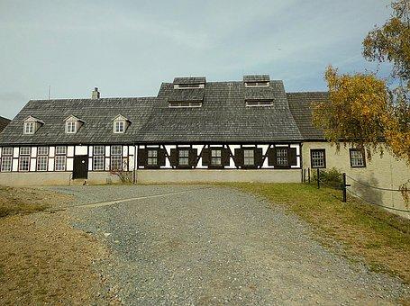 House, Truss, Architecture, Autumn, Freiberg, Saxony