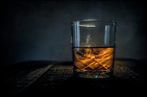 Whiskey, Bar, Alcohol, Glass, Scotch, Drink, Bourbon