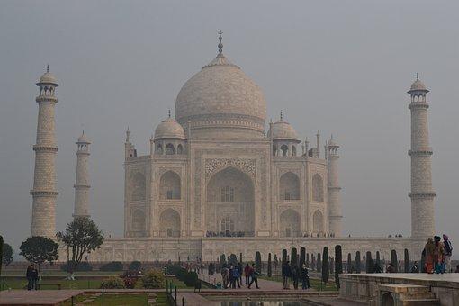 Taj Mahal, India, Building, Castle, Architecture