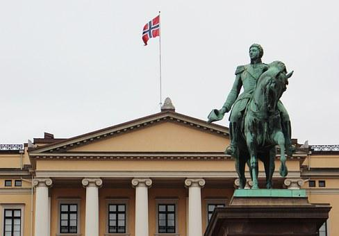 Oslo, Norway, City, Building, Castle Park, King House