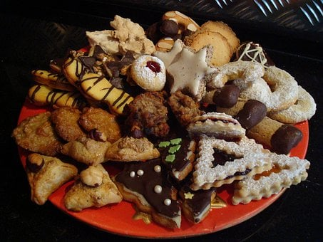 Cookies, Christmas, Gingerbread, Delicious, Colorful