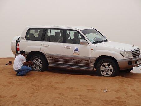 Sahara, Desert, Sand, Dunes, Dubai, Picture