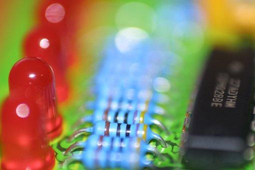 Electronics, Pcb, Printed Circuit Board, Resistance