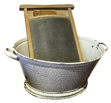 Washboard, Wash, Tub, Old, Formerly, Nostalgia, Past