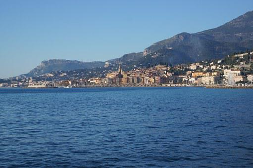 Menton, France, Riviera, Tourism, French, Travel