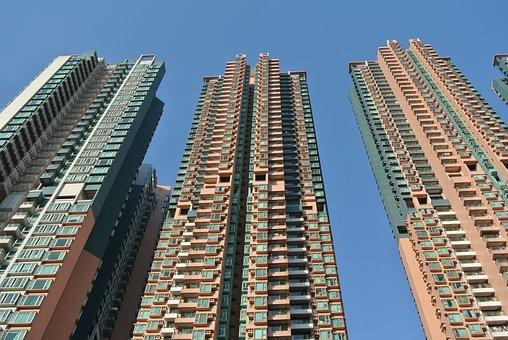 Hong Kong, Urban, Hong Kong Skyline, Skyline, Building