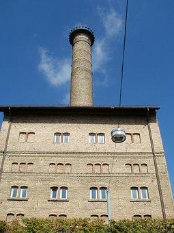 Old, Malthouse, Schwetzingen, Building, Industrial