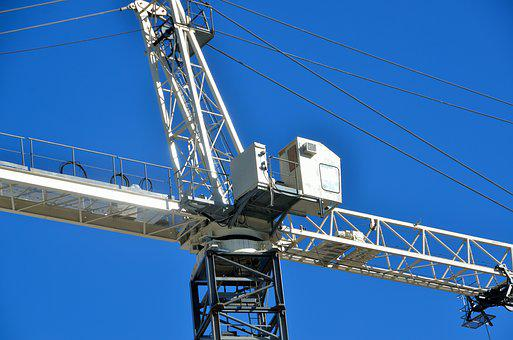 Construction, Crane, Industry, Steel, Site