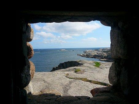 Cave, Window, View, Landscape, Travel, Rock, Ancient