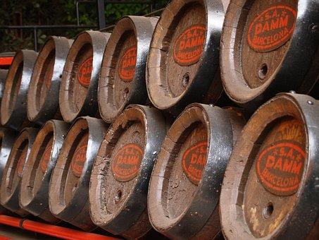 Production, Malt, Beer, Barrel, Vintage, Alcohol