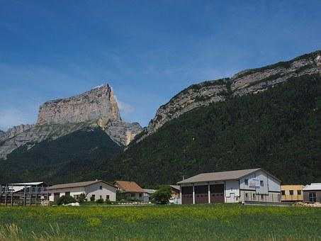 Chaffaud, Mont Aiguille, Mountain, Massif, Vercors