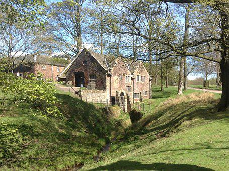 Dunham Massey, Altrincham, Mill, Park, National Trust