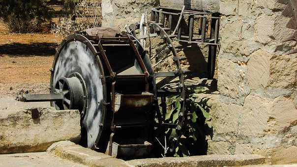 Watermill, Traditional, Old, Mill, Agriculture