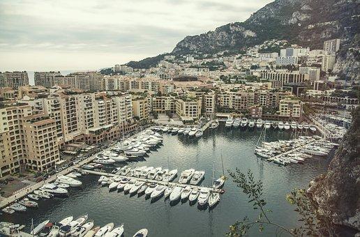 Monaco, Monte, Carlo, Mediterranean, Luxury