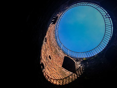 Tower, Top, Sky, Brick, Shadow, Circle, Monument, Old