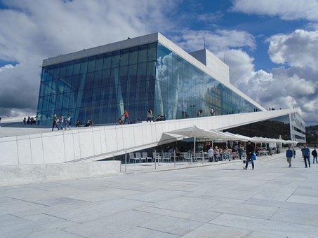 Opera, Oslo, Ar, Architecture, Norway