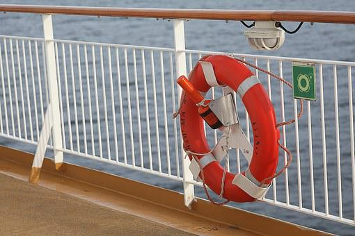 Safety First, On Bord, Seafaring, Security, Lifebelt