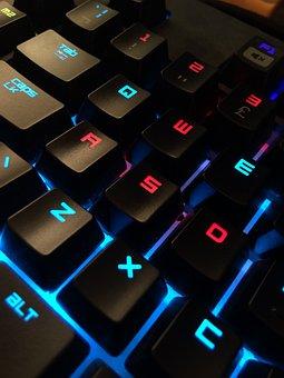 Keyboard, Gamer, Computer, Technology, Pc, Online
