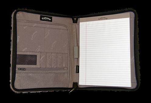 Organizer, Writing Pad, Writing, Pen Holder, Filofax