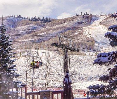 Park City, Utah, Ski Lift, Gondola, Marriott, Pools