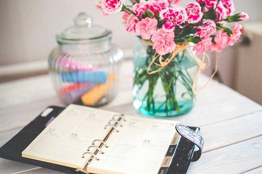 Organizer, Personal Organizer, Personal Diary, Note