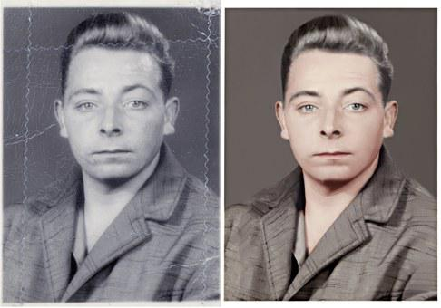Photo Editing, Image Manipulation, Restoration, Male