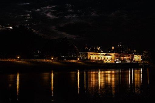 Saxony, Pillnitz, Castle, Elbe, Dresden, Historically