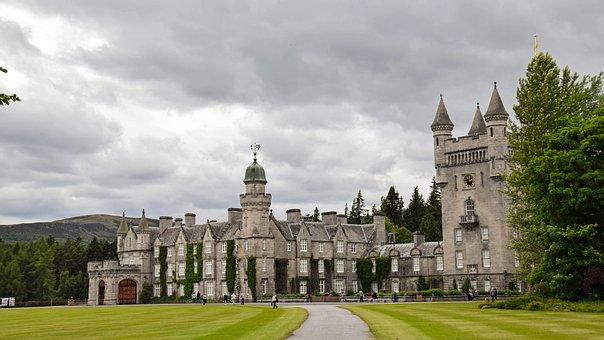Scotland, Aberdeenshire, Dee-tal, Balmoral Castle