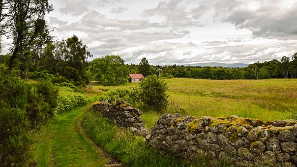 Scotland, Aberdeenshire, Dee-tal, Landscape, Scottish