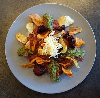 Tatar, Root Vegetables, Rodfrugte Chips, Horseradish