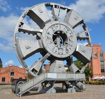 Technology, Tunnel Jacking Drill, Elbtunnel Hamburg