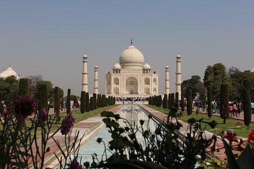 India, Taj, Mahal, Religion, Temple, Agra