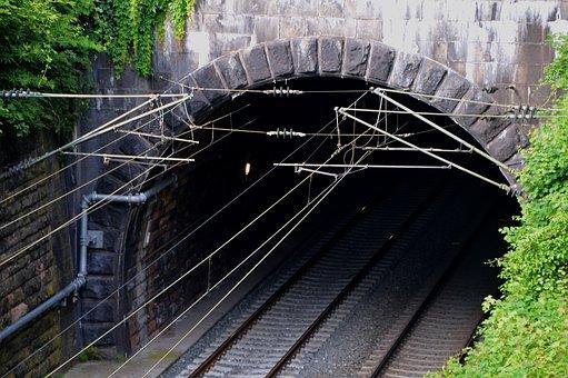 Tunnel, Train, Gleise, Railway Line, Transport, Railway