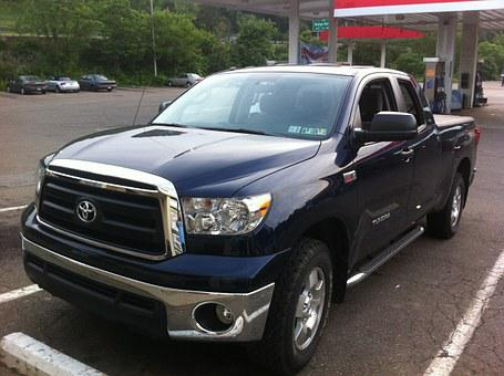 Truck, Toyota, 4x4