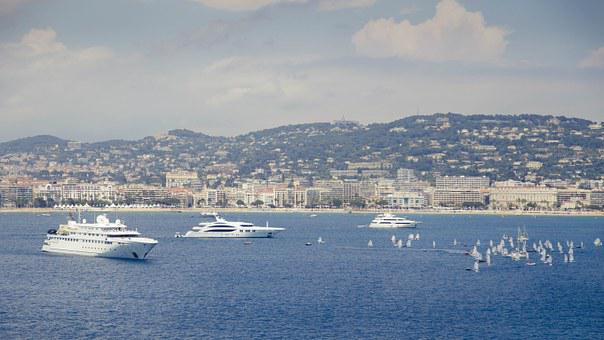 Sea, Boats, Ship, Travel, Cannes, France, Vacation