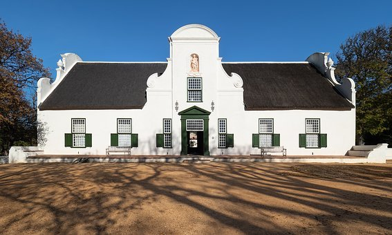Groot Constantia, Historical Wine Estate, Architecture