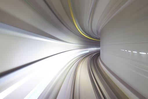 Subway, Autonomous, Long Exposure, Korea, South Korea