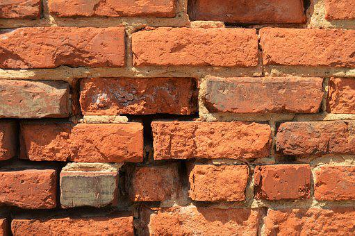Brick, Red, Architecture, Texture, Wall, Masonry